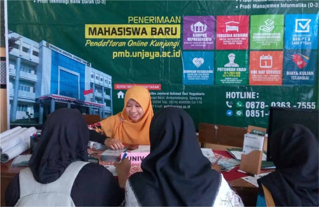 Unjani Yogyakarta Ikuti Campus Expo SMAN 1 Sentolo