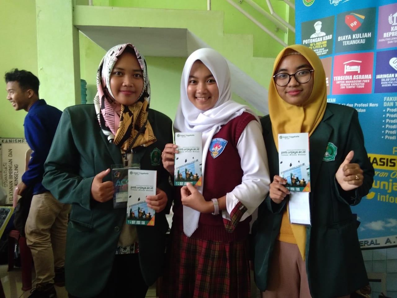 Survei Kepuasan Layanan PMB Unjani Yogyakarta